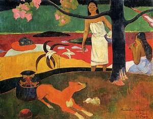 Tahitian pastorale, 1898 - Paul Gauguin - WikiArt.org