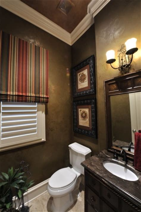 powder room great wall color favorite spaces pinterest