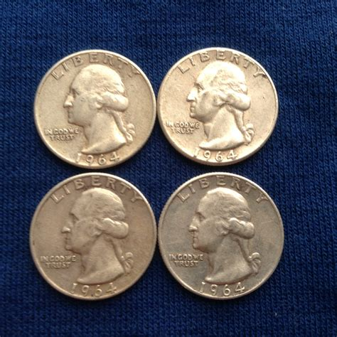 silver quarters 1964 90 silver washington quarters old us coins for coin