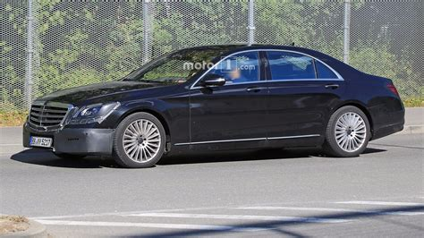 S Class Facelift 2018 by 2018 Mercedes S Class Facelift Confirmed For April Debut