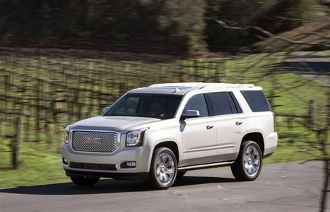 2019 Gmc Lineup by 2019 Gmc Yukon Styled With Boxy Style New Suv Lineup