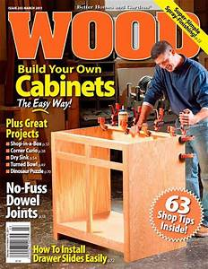 WOOD Issue 203, March 2011 Woodworking Plan from WOOD Magazine