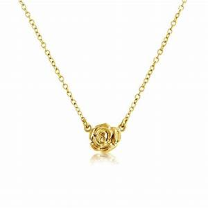 Belcho Small Rose Pendant Necklace View All