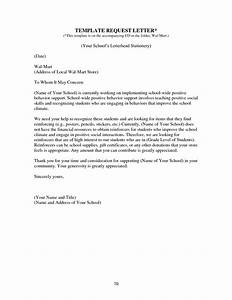 sample letter decline donation request request for With donation letter template for schools