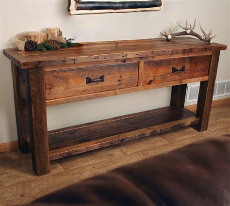 Sofa Table With Drawers Sofa Table With Storage Drawers