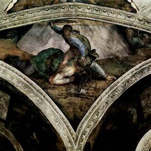 Michelangelo Buonarroti: Deckenfresko zur ...