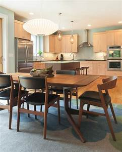 mid century dining table Dining Room Modern with Architect