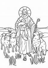 Pastor Coloring Malvorlage Buen sketch template