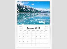 Calendar Template PrintingCenterUSAcom