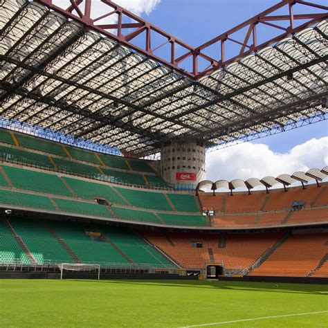 posti a sedere stadio san siro struttura san siro stadium