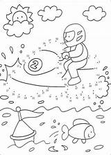 Ski Jet Coloring Pages Boy Printable Getcolorings Print sketch template