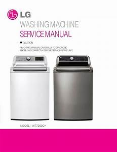 Lg Wt7200c Wt7200cw Wt7200cv Washer Service Manual   Parts