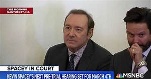 Kevin Spacey makes first court appearance over sexual ...