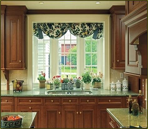 bay window curtains home design ideas