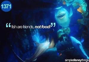 Bruce (Finding Nemo) quote | Disney!!! | Pinterest