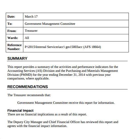sample treasurer report  documents   word