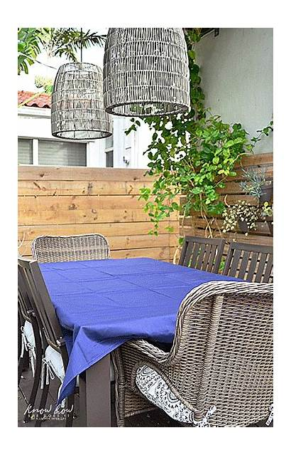 Table Setting Outdoor Perfect Simple Homegoods Yet