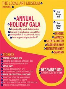 Circle Gala Flyer TicketPrinting com