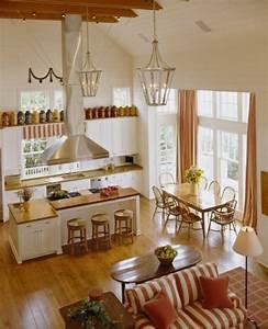 Sofa In Der Küche : gem tliche k che im landhausstil einrichten ~ Bigdaddyawards.com Haus und Dekorationen