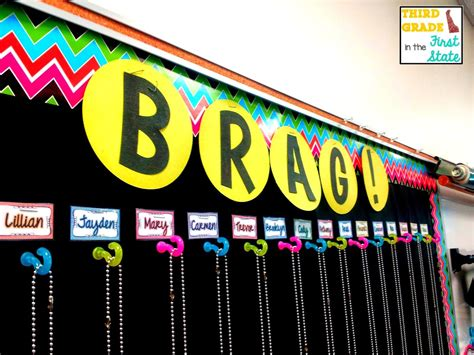 Brag Tags In The Classroom