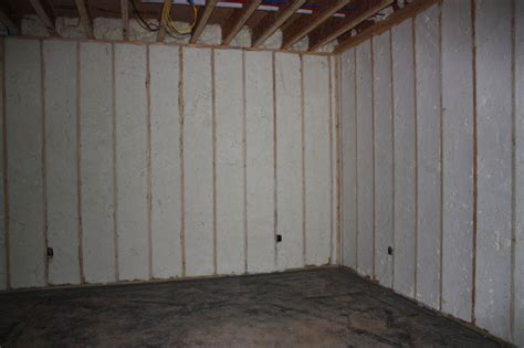 Awesome Basement Insulation Panels 13 Basement Wall Spray
