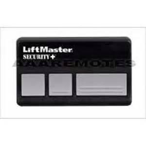 liftmaster chamberlain 973lm security garage door opener remote