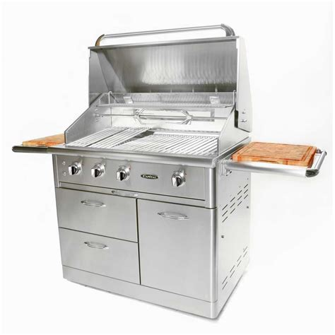 stainless steel gas grills weber summit s 660 6 burner built in natural gas grill in stainless steel 7460001 the home depot