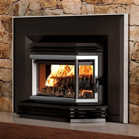 Osburn 2200 Metallic Black Epa Wood Burning Fireplace