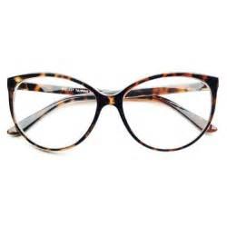 cat eye prescription glasses large clear lens retro vintage fashion cat eye eye glasses