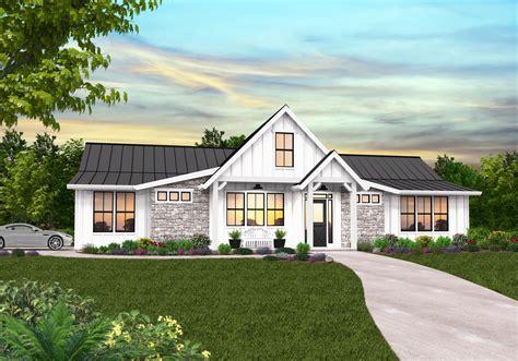Cuthbert Modern Farmhouse Plan