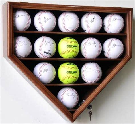 display case baseball softballs sports ball display cases