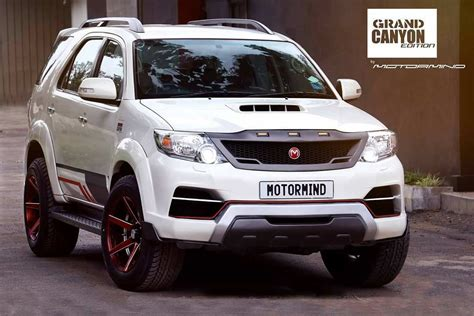 Toyota Fortuner Modification by Toyota Fortuner Grand Edition By Motormind Autobics