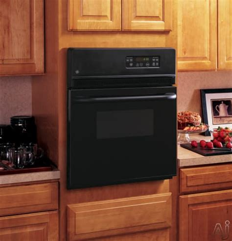 ge jrsbjbb   single electric wall oven   cu ft traditional manual clean oven