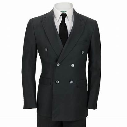 Suit Breasted Double Mens Jacket Waistcoat Piece
