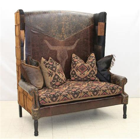 Western Cowhide Furniture by 113 Best Western Sofa Loveseats Images On