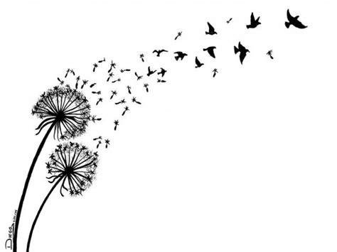 drawn dandelion   clip art  owipscom