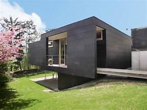 Häuser Am Hang Bilder : haus mit r ckgrat modernes einfamilienhaus nachverdichtung ~ Eleganceandgraceweddings.com Haus und Dekorationen