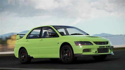 Mitsubishi Evos by Four Mitsubishi Evos Coming To Project Cars 2 Virtualr