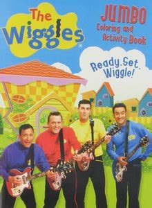wiggles jumbo coloring  activity book