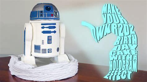 cake  hologram projector easy diy youtube