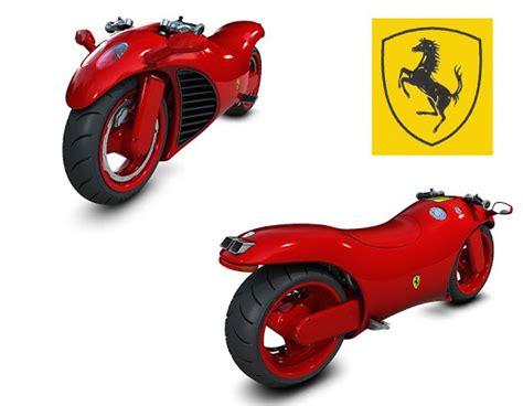 Ultimate Ferrari Motorcycle