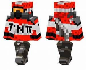 TNT Soldier Skin For Minecraft PE 1207 MCPE Box