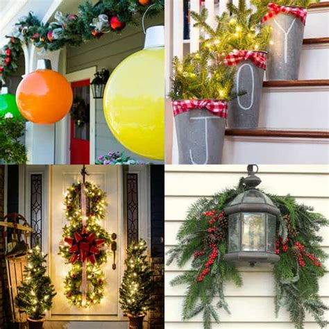 where do you get best christmas decorations gorgeous outdoor decorations 32 best ideas tutorials a of rainbow