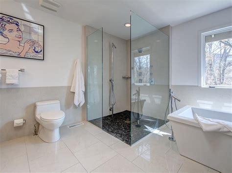 Modern Small Bathroom Renovations by Modern Sleek Bathroom Joni Spear Hgtv