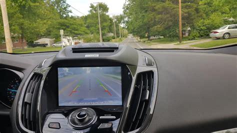 ford escape rear camera   turn