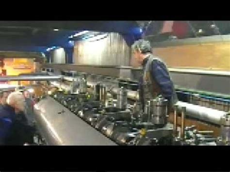 U Boat Diesel Engine by M A N Motor U Boat Diesel Engine Duikboot Motor Shvp