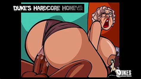 Thick Ass Granny Fucked By Big Black Cock