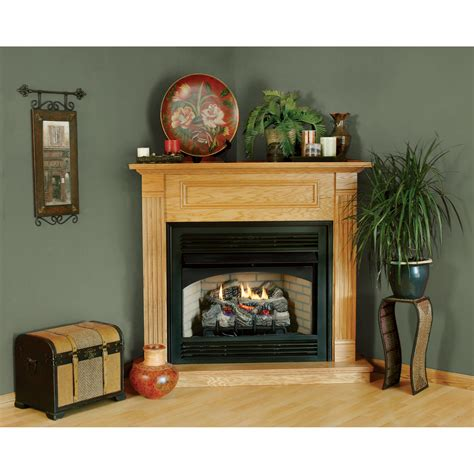 Awesome White Beige Wood Unique Design Fireplace