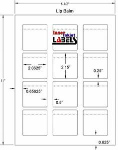 free label templates for downloading and printing labels With chapstick label size