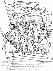 tha american revolution colouring pages